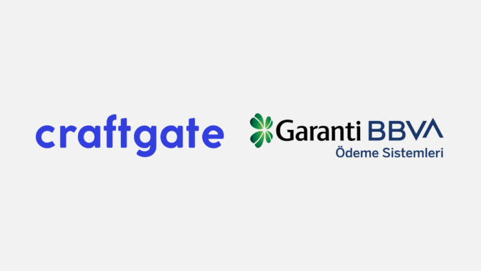 Craftgate, Garanti BBVA Ödeme Sistemleri'nin Sanal POS için çözüm ortağı oldu