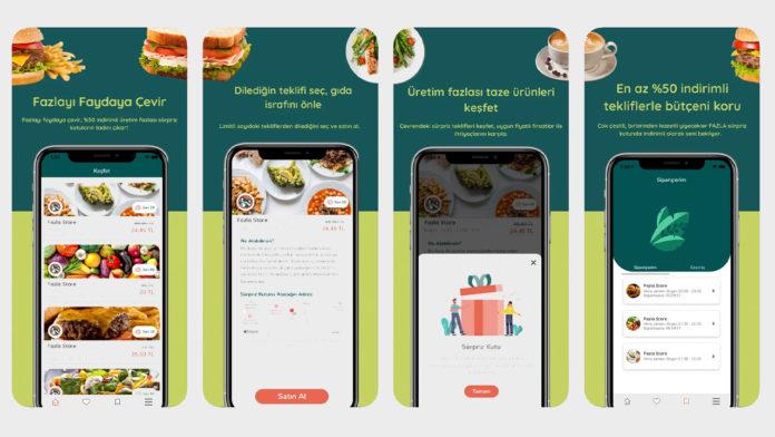 Fazla: Restoran, kafe gibi yerlerden üretim fazlası gıdaları indirimli satın almanızı sağlayan uygulama