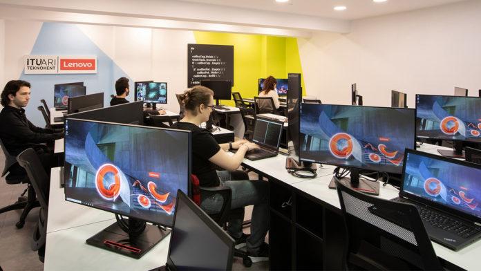 Girişimler için İTÜ ARI Teknokent ve Lenovo iş birliği ile Yazılım Laboratuvarı hayata geçirildi