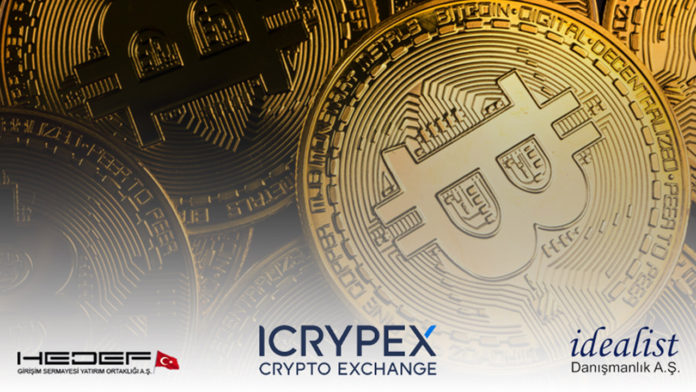 Hedef Girişim ve İdealist Danışmanlık, kripto para platformu Icrypex'in yüzde 30'una ortak oldu