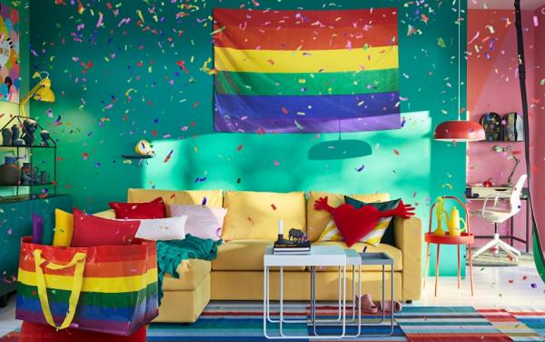 IKEA Japonya, Tokyo Rainbow Pride için Koleksiyon Hazırladı