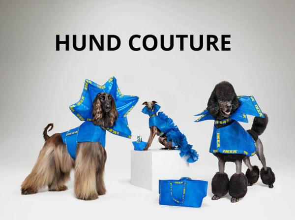 IKEA, Köpekler için Haute Couture Kıyafet Tasarladı