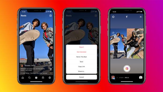 Instagram, Reels için Remix özelliğini kullanıma sundu