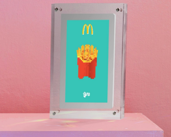 McDonald's Fransa, En Popüler Menülerini NFT Olarak Piyasaya Sürmeye Hazırlanıyor