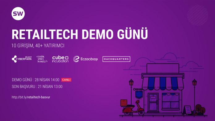 Perakende alanındaki girişimler için Retailtech Demo Günü başvuruları 21 Nisan'da sona eriyor