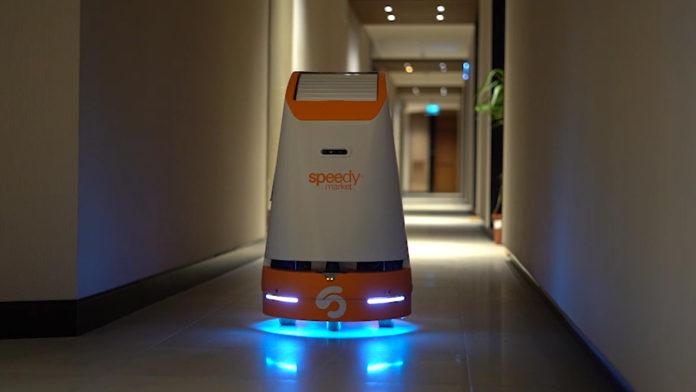 Speedy Market: Teslimatları robotlar tarafından yapılan yerli otonom online market