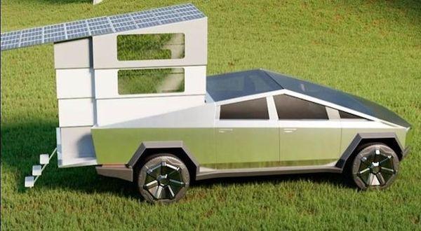 Tesla Cybertruck Modeli, CyberLandr ile Ev Seçeneği Sunuyor