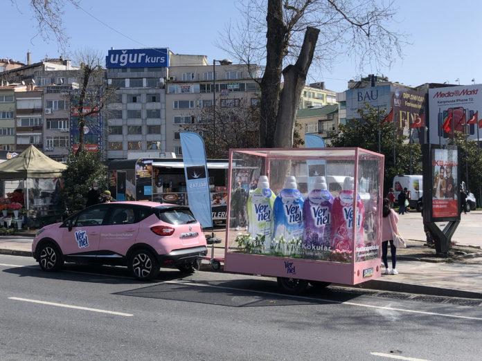 Vernel Max ile İstanbul Sokaklarına Bahar Geldi