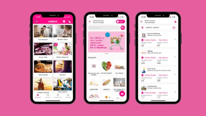 Yemek siparişi, e-ticaret derken Super App olma yolunda ilerleyen Maximum Mobil'den yeni özellik: Online market servisi