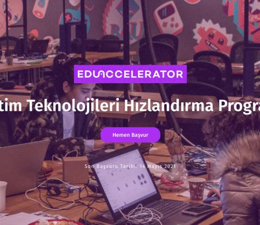Eğitim odaklı girişimler için hızlandırma programı EduAccelerator başvuruları 14 Mayıs'ta sona eriyor