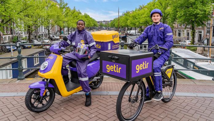 Yurt dışında büyümeyi hızla sürdüren getir, Londra'nın ardından Amsterdam'da da hizmete başladı