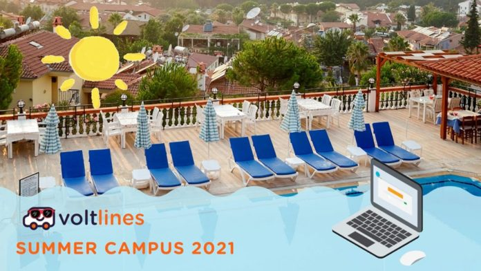 Akıllı ulaşım servisi Volt Lines, uzaktan çalışmayı bu yaz Summer Campus 2021'e taşıdı