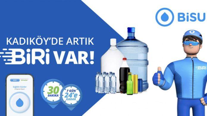 BiSU'nun hızlı teslimat servisi BiRi, Kadıköy'de hizmete başladı
