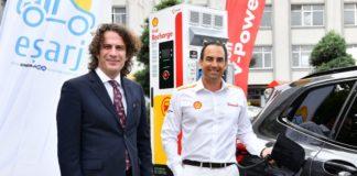 Elektrikli şarj istasyonu Shell Recharge, Eşarj iş birliği ile Türkiye pazarına girdi