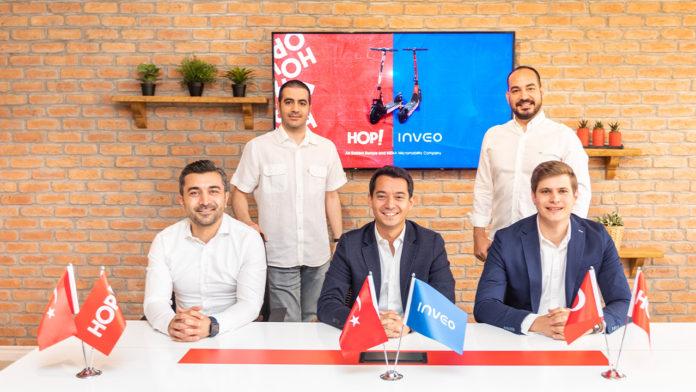 Paylaşımlı mobilite platformu HOP!, Inveo liderliğinde 25.9 milyon TL yatırım aldı