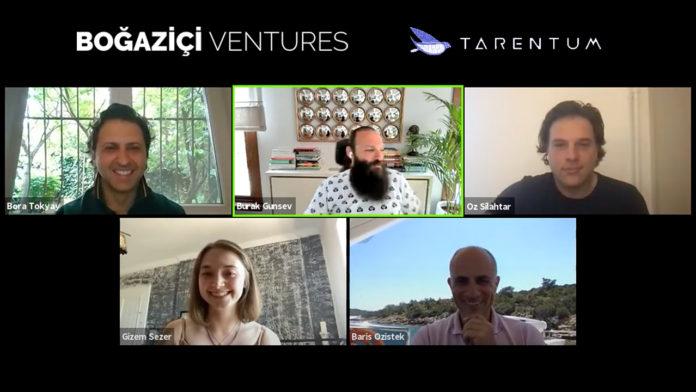 Yerli yapay zeka girişimi Tarentum, Boğaziçi Ventures'tan 1.4 milyon dolar yatırım aldı